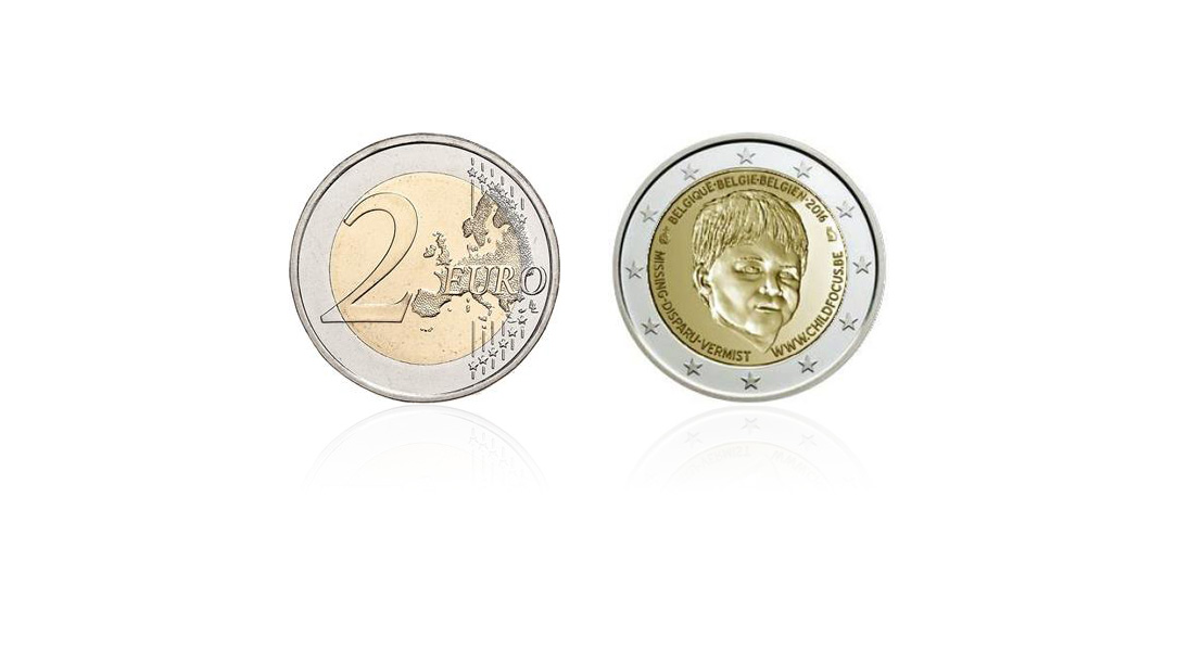 Belgium issued a new € 2 coin